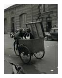 Baiser Blotto, c.1950 Poster by Robert Doisneau