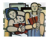 La Lecture, c.1924 Poster by Fernand Leger