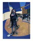 Portrait of Isabel Rawthorne Standing in a Street in Soho, c.1967 ポスター : フランシス・ベーコン