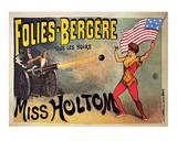 Folies-Bergeres, Miss Holtom Art