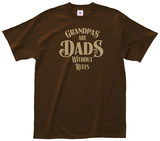 Grandpas are Dads Tee Shirts