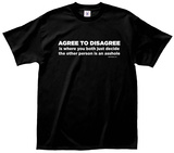 Agree to Disagree Tee Vêtement