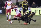 MLS: New York Red Bulls at Columbus Crew SC Print by Greg Bartram
