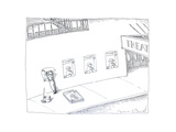 Theatre ticket booth as poster. - Cartoon Premium Giclee Print by John O'brien