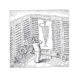 Memorial - Cartoon Premium Giclee Print by John O'brien