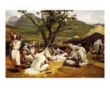 L'Arabe Diseur de Contes, 1833 Prints by Horace Vernet