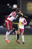 MLS: New York Red Bulls at Columbus Crew SC Prints by Greg Bartram