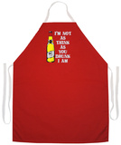 I'M Not As Think Apron Forkle