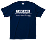 Sarcasm Illegal Tee T-shirts