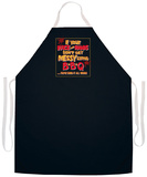 Messy Eating Bbq Apron Apron
