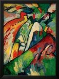 Improvisation 7 (Storm), 1910 Framed Giclee Print by Wassily Kandinsky