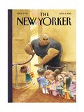 The New Yorker Cover - April 6, 2015 Regular Giclee Print by Carter Goodrich