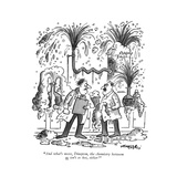 """And what's more, Dimpton, the chemistry between us isn't so hot, either!"" - New Yorker Cartoon Premium Giclee Print by Henry Martin"