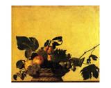 Corbeille de Fruits, 1600 Prints by  Caravaggio