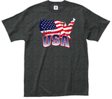 USA Crackle Flah Tee T-Shirt