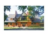 Architectural Digest Premium Giclee Print by Lee Mindel