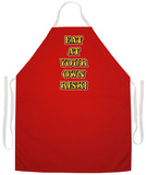 Own Risk Apron Forklæde