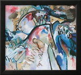 Improvisation 21 A, 1911 Framed Giclee Print by Wassily Kandinsky