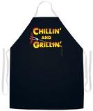 Chillin' & Grillin' Apron Förkläde