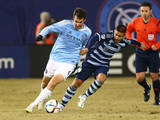 MLS: Sporting KC at New York City FC Photo by Andy Marlin