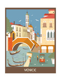 Venice. Posters by  Ladoga