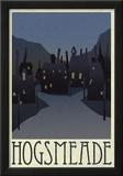 Hogsmeade Retro Travel Posters