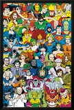 DC Comics - Retro Cast Posters