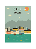 Cape Town. South Africa. Plakater af Ladoga