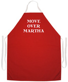 Move Over Martha Apron Apron