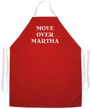 Move Over Martha Apron Schürze