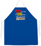 Live By Beer Alone Apron Forkle