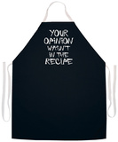 Your Opinion Apron Grembiule