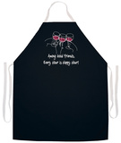 Among Good Friends Apron Forkle