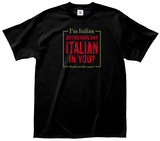 Italian in You Tee T-Shirt