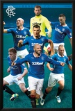 Rangers Players 14/15 Posters