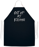 Out Of My Kitchen Apron Forkle