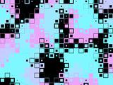 Pixels Modern Pattern Prints by  montserrat117
