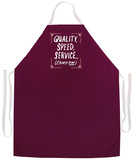 Quality Speed Service Apron Apron