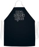Bbq Dudes Rule Apron Apron