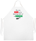 Get Out Of My Kitchen Apron Apron