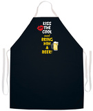 Kiss Cook Bring Beer Apron Forkle
