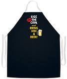 Kiss Cook Bring Beer Apron Apron