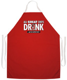 All Great Chefs Apron Forklæde