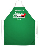 Italian Cook Apron Forklæde