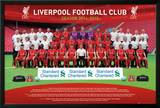 Liverpool Team 14/15 Prints