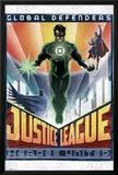 DC Comics Green Lantern - Art Deco Prints