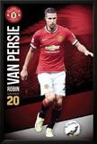 Manchester United Van persie 14/15 Prints