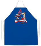 Married Me For Grilling Apron Apron