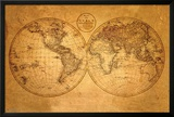 Old World Map Prints