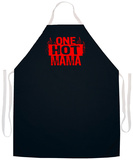 One Hot Mama Apron Forkle